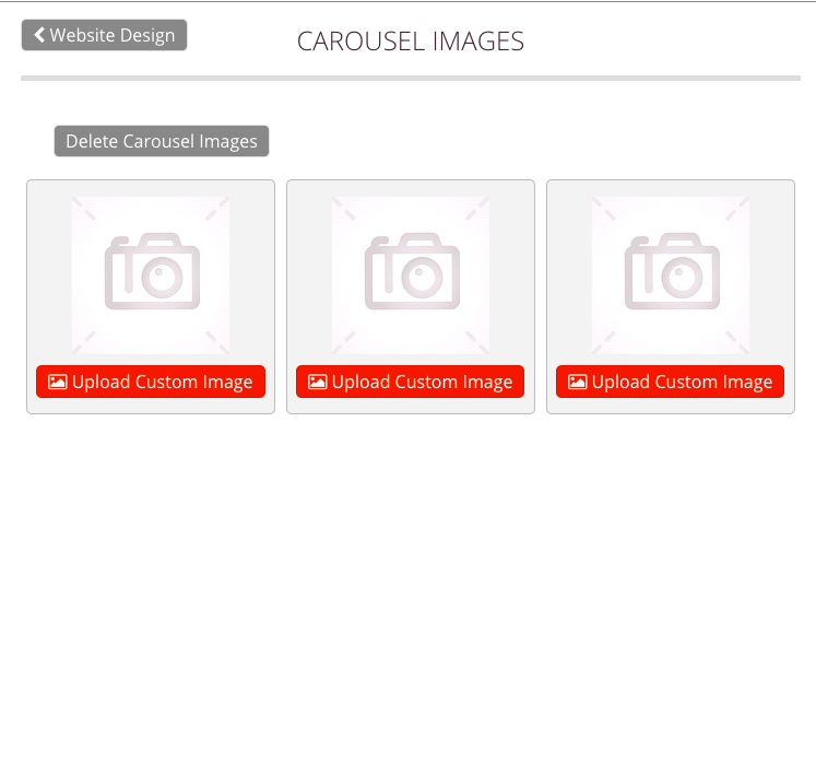 Carousel Image Management