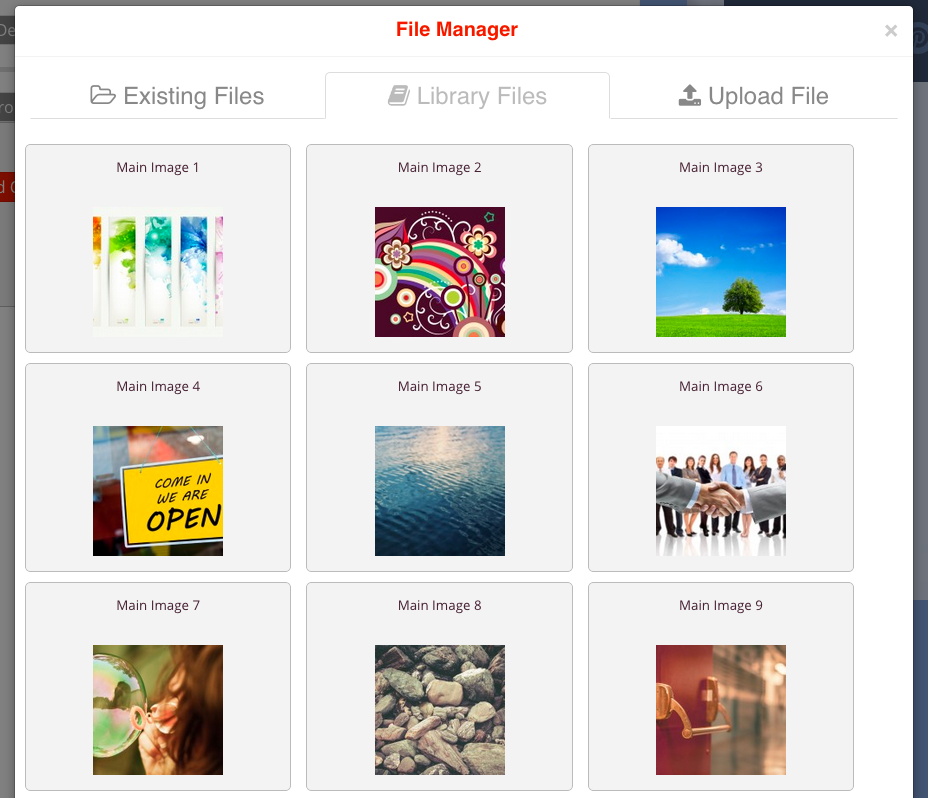 File Manager Library